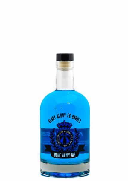 Club Brugge Blue Army gin te koop bij Sterkstokers