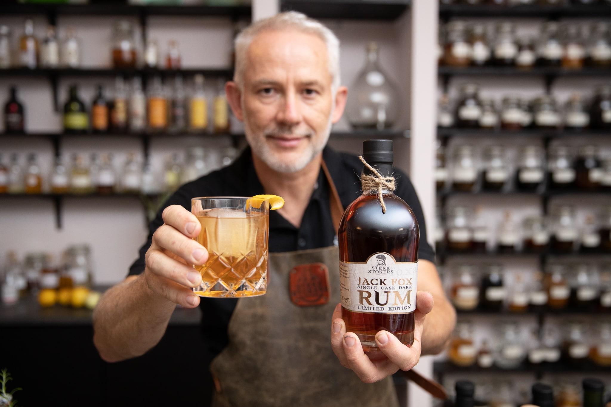 Jack Fox Rum van Sterkstokers sfeerfoto
