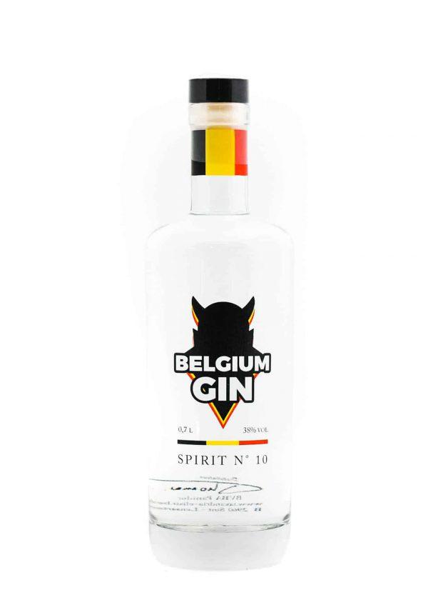 Belgium Gin white van Sterkstokers