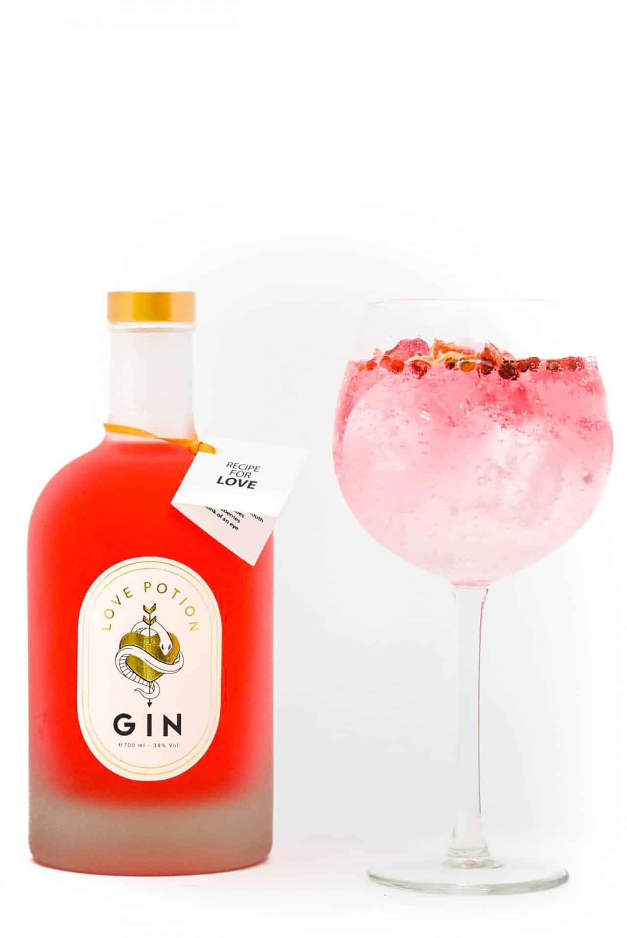 Sterkstokers eigen Love Potion Gin