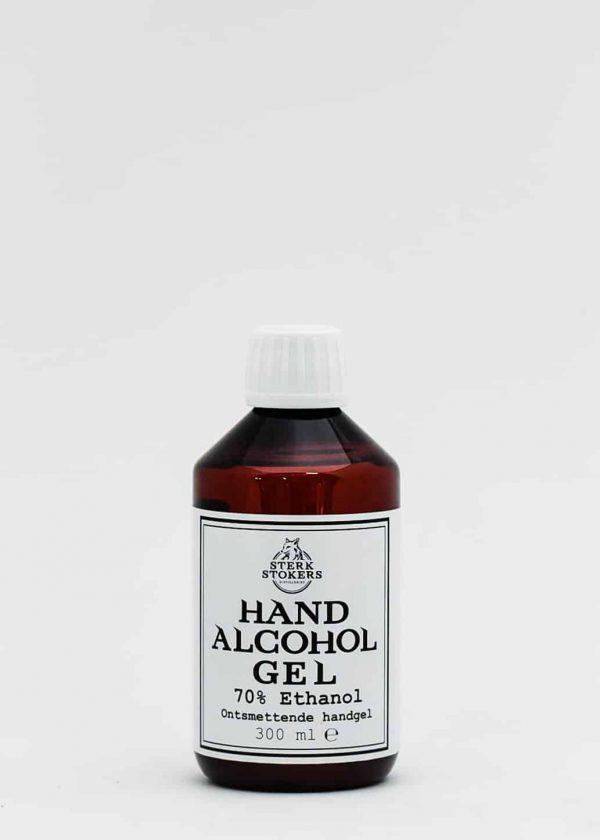Hand alcohol gel van Sterkstokers medium formaat