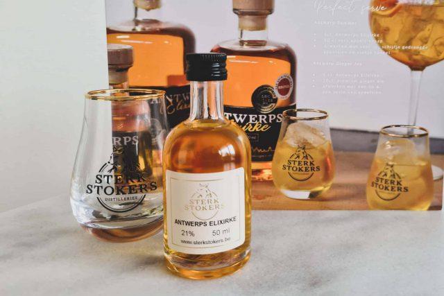 Sterkstokers Online Gin Tasting Antwerps Elixirke