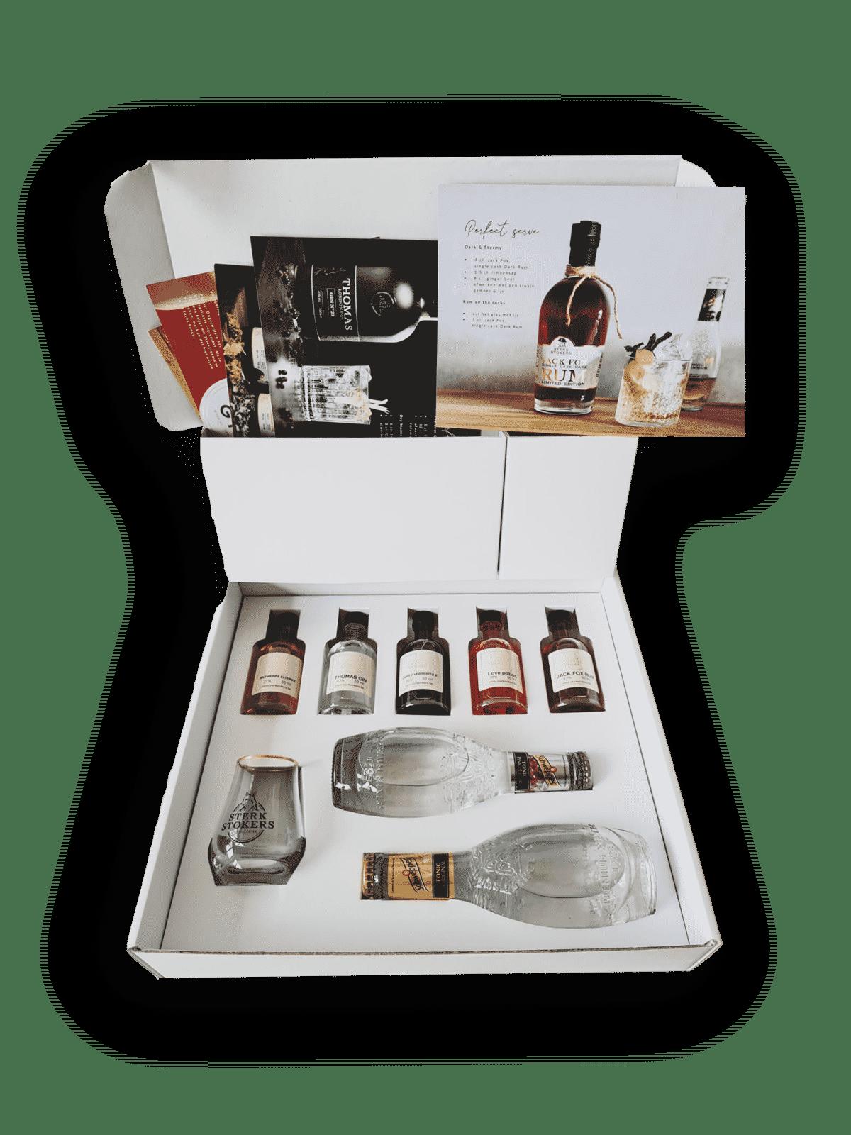 Online Gin Tasting Box Sterkstokers