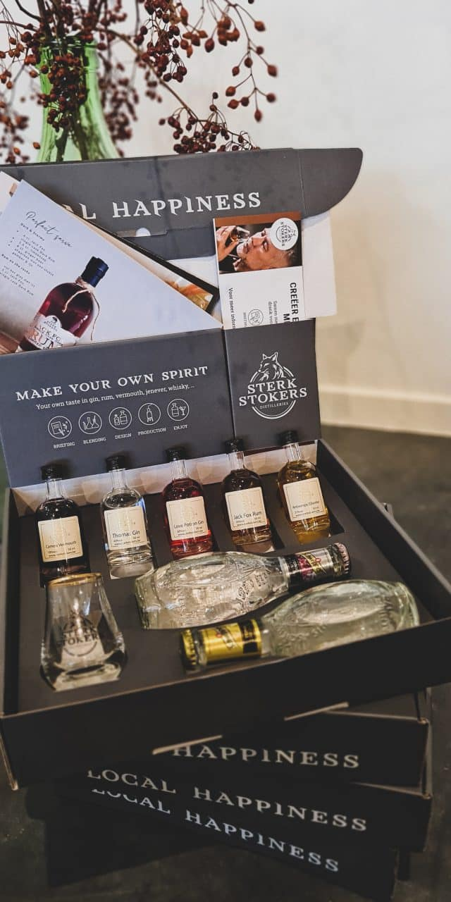 Sterkstokers Gin Tasting Box