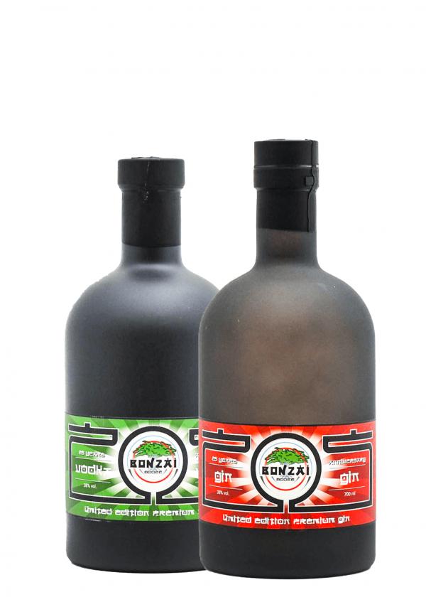Bonzai Gin and Vodka Duo Package