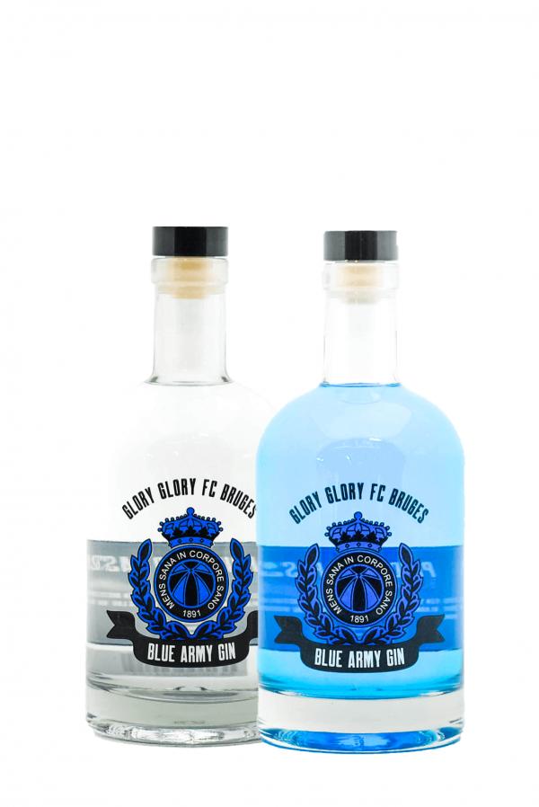 Club Brugge Blue Army Gin Duopakket