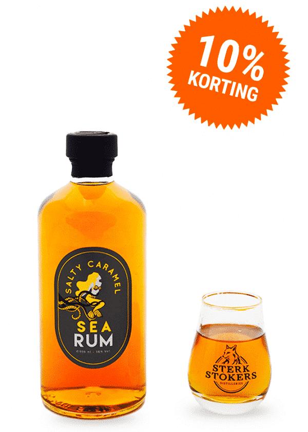 Sea Rum 10% korting voor Horeca